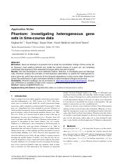 17_Phantom_ investigating heterogeneous gene sets in time-course data.pdf