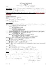 F16 HM421_Phase_I_Interview Project Evaluation Form