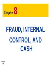 3. Fraud , Internal control and cash (8).ppt
