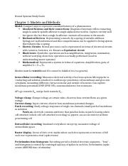 Neural Systems Exam 1 Study Guide.docx