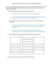 Quiz 1 Readiness Worksheet Key(1)