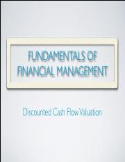 2340_Lecture 4_Discounted Cash Flow