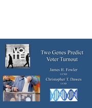 Fowler - two_genes_predict_voter_turnout