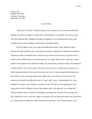 ECC - ENGLISH 102 - THE STORY OF AN HOUR.docx