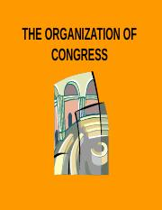 THE-ORGANIZATION-OF-CONGRESS.ppt