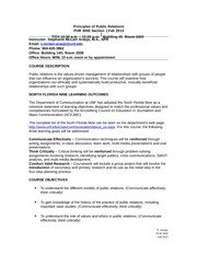PUR3000 Principles of Public Relations-Syllabus Fall 2013_SAraujo