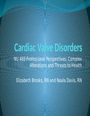 cardiac valve disorders powerpoint.pptx
