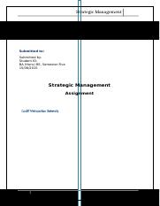 Strategic Management Assignment.docx