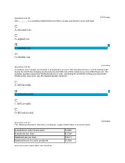 ACCOUNTING FOR MANAGERS EXAM 7_06