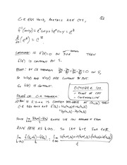 MTHE 326 Lecture 11 Notes