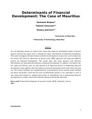 Determinants_of_Financial_development__The_case_of_MauritiusCSAE.doc