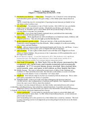Chapter 3 - Vocabulary Words