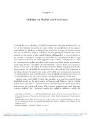 Debates_on_Hadith_and_Consensus