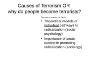 BB (2) LECTURE - THE CAUSES OF TERRORISM.pptxsoci395