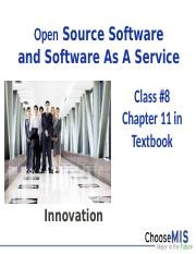 Class 08 - OSS and SaaS.pptx