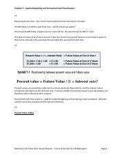 Chapter 7 – Capital Budgeting and Discounted Cash Flow Analysis