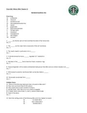 Chapter 12-Starbucks Questions-KEY-W16