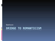 Bridge to Romanticism