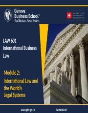 170315_Module_1_ch2-_International_Law_a_n_d_the_World's_Legal_Systems.pptx