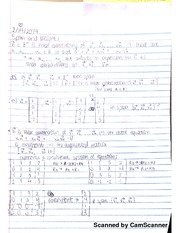 Span And Weight Notes