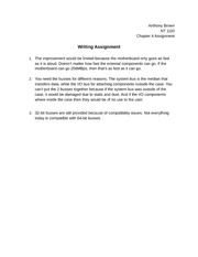 Chapter 4 Writing Assigment