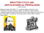 L13 Brayton Cycle