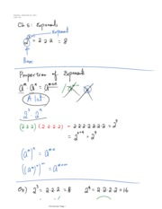 Chapter 5 and 3 Exponents and Functions