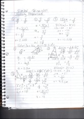 MPM 2DE solving proportions notes