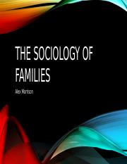 The Sociology of Families.pptx