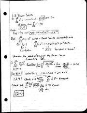 MAT 241 - Notes 11.8 Power Theorem