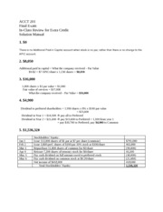 Acct 201 FINAL Review-in class SOLUTIONS(1)