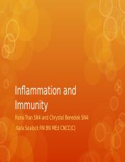 N487 W13 Inflammation and Immunity