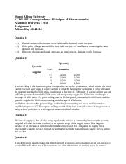 Econ 1001 - Completed Assignment 1
