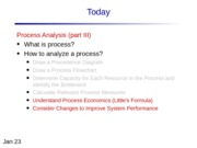 Lecture 4 Process Analysis 3