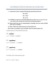 Solved Problems on Bonds and Term Structure of Interest Rates(1).docx