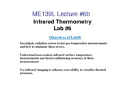 Lecture #6b_IR Thermography Lab 6