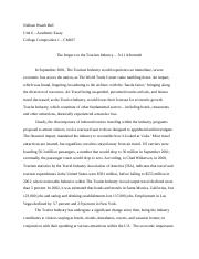 Nelleen Weath Bell-CM107-Unit6-Academic-Essay-Assignment