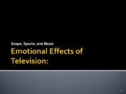 Emotional TV ppt