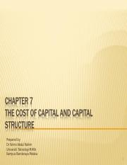 chapter 7 cost of capital.ppt