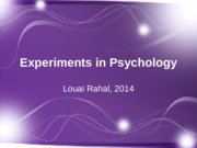 experiments_in_psychology