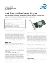 Intel(r) Ethernet I340 Server Adapter Product Brief.pdf