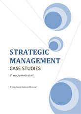 152279105-strategic-management-case-studies