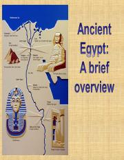 Ancient Egypt - A Brief Overview.ppt