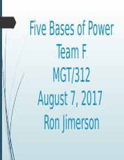 Five Bases of Power-Team F.pptx
