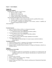 International Finance final study guide