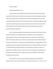 basic learning- essay
