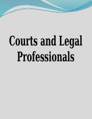 7. Courts and legal professionals Exam 2....pptx