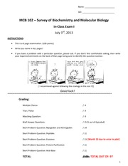 MCB+102-01-Su13-Exam+1+-+Final+-+Key+-+To+post