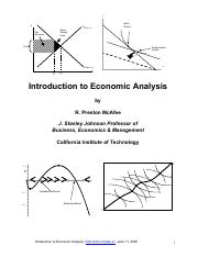 Introduction to Economic Analysis by Preston McAfee (344 pages)