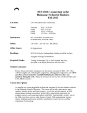 BUS 1101 Fall 2015 Syllabus updated 10 14 15.docx
